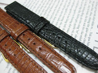 dây đồng hồ da cá sấu 24