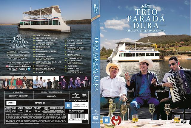 Capa DVD Trio Parada Dura Chalana, Churrasco & Viola