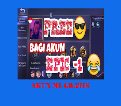 Akun Gratis Mobile Legends Gratis
