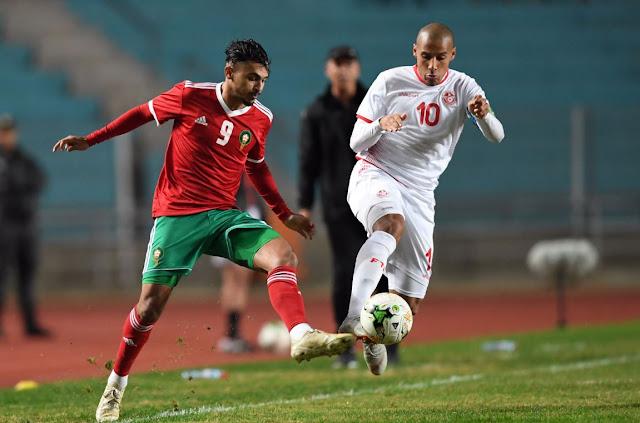 """Résultat de recherche d'images pour """"match amical maroc tunisie"""""""