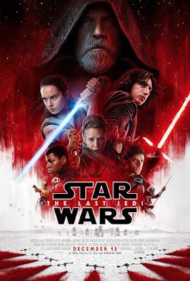 Póster de Star Wars los últimos Jedi