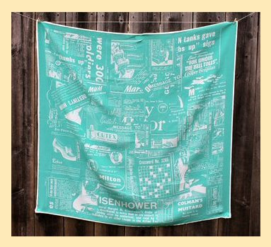DIY Silk Scarf made from custom Spoonflower fabric