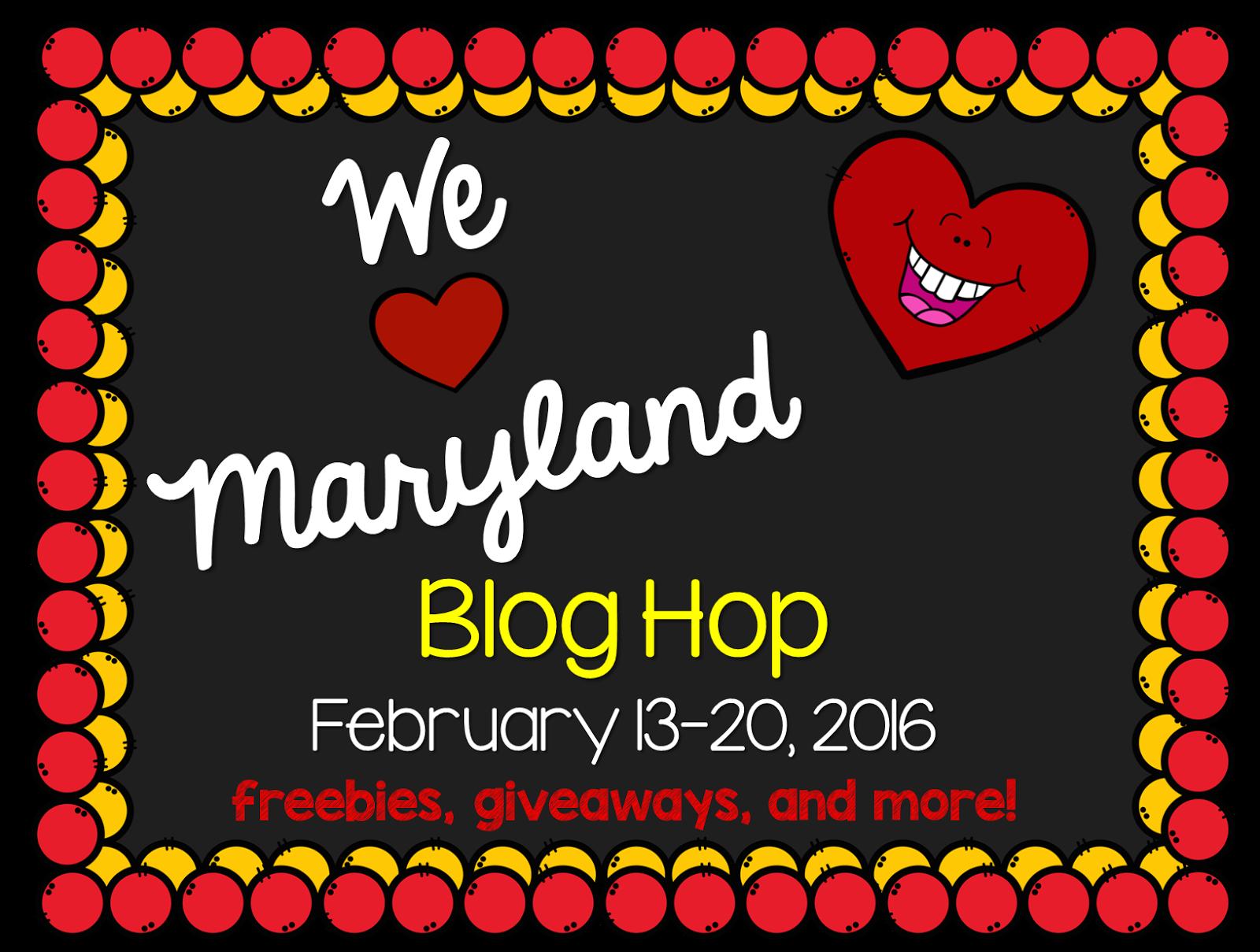 Techie Turtle Teacher We Heart Maryland Blog Hop