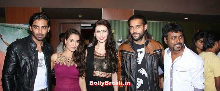 Tia Bajpai, Claudia Ciesla, Akhil Kapur, Sasha Agah, Tia Bajpai Pics from 'Desi Kattey' Trailer Launch