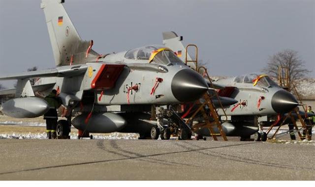 Aviones Tornado de la Fuerza Aérea de Alemania