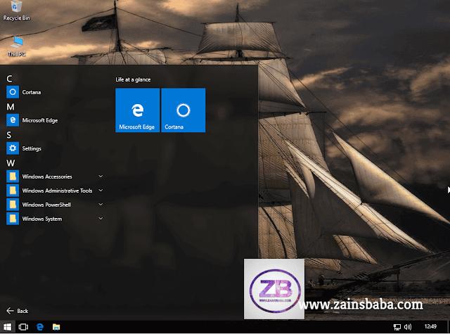 Windows 10 Pro X86 1511 super lite Edition Pre-Final   ZainsBaba