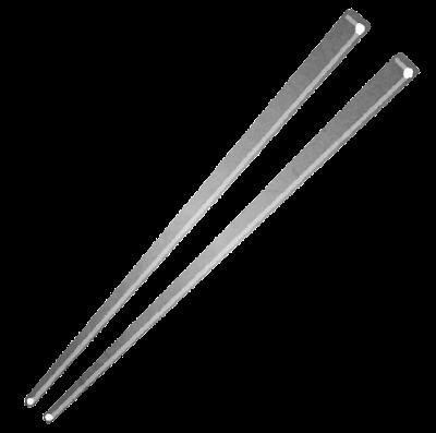 鉄の箸のイラスト