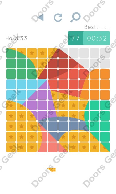 Cheats, Walkthrough for Blocks and Shapes Hard Level 33