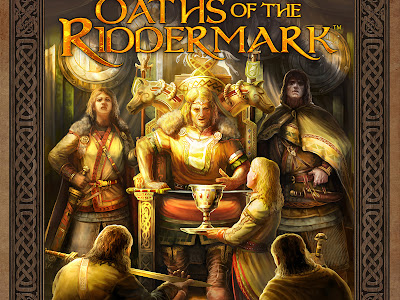 Revelada la portada de Oaths of the Riddermark para The One Ring (Cubicle 7)