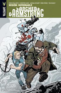 ARCHER ARMSTRONG 5 MISION IMPROBABLE  Comic de Van Lente, Evans y Baron MISIÓN IMPROBABLE Colección VALLANT