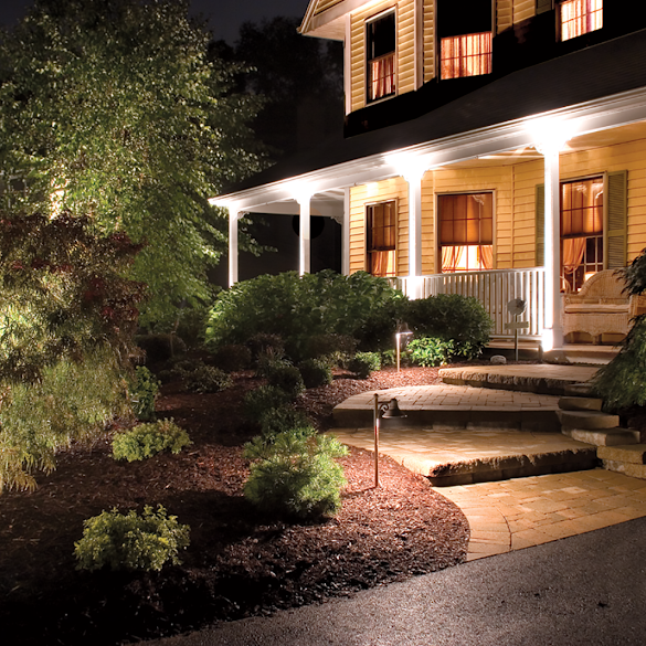The Luxury Concept in The Appearance of Outdoor Lighting