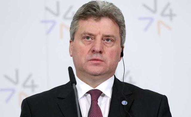 """Ο Ιβανόφ αρνείται να κυρώσει νόμους διότι λένε """"Βόρεια Μακεδονία"""""""