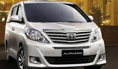 Harga Mobil Toyota Alphard