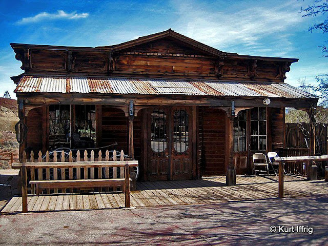 Walter Knott moved several original building to Barstow, Daggett, Yermo and Knott's Berry Farm.