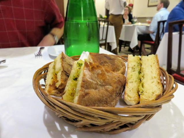 Bola do Caco Garlic Bread on Madeira