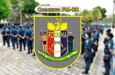 edital concurso PM-RR para 400 vagas de soldado