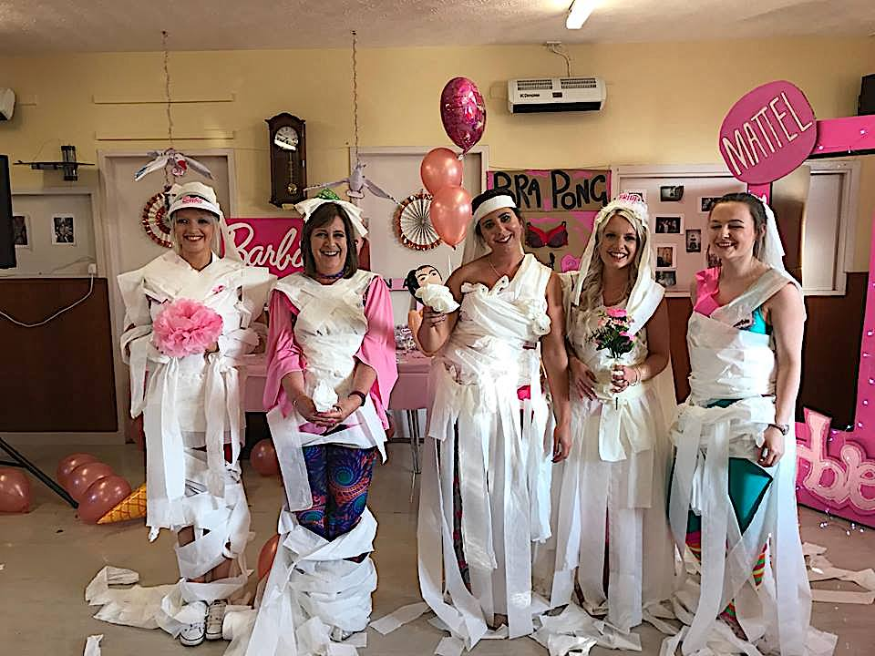 The Last Few Games Included Junk In Trunk Ping Pong Balls A Tissue Box Bra And Prosecco We Also Did Quite Impromptu Dance Offs