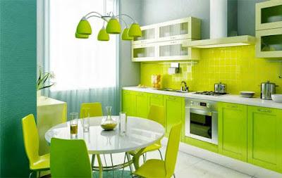 warna cat bagian dapur menurut islam