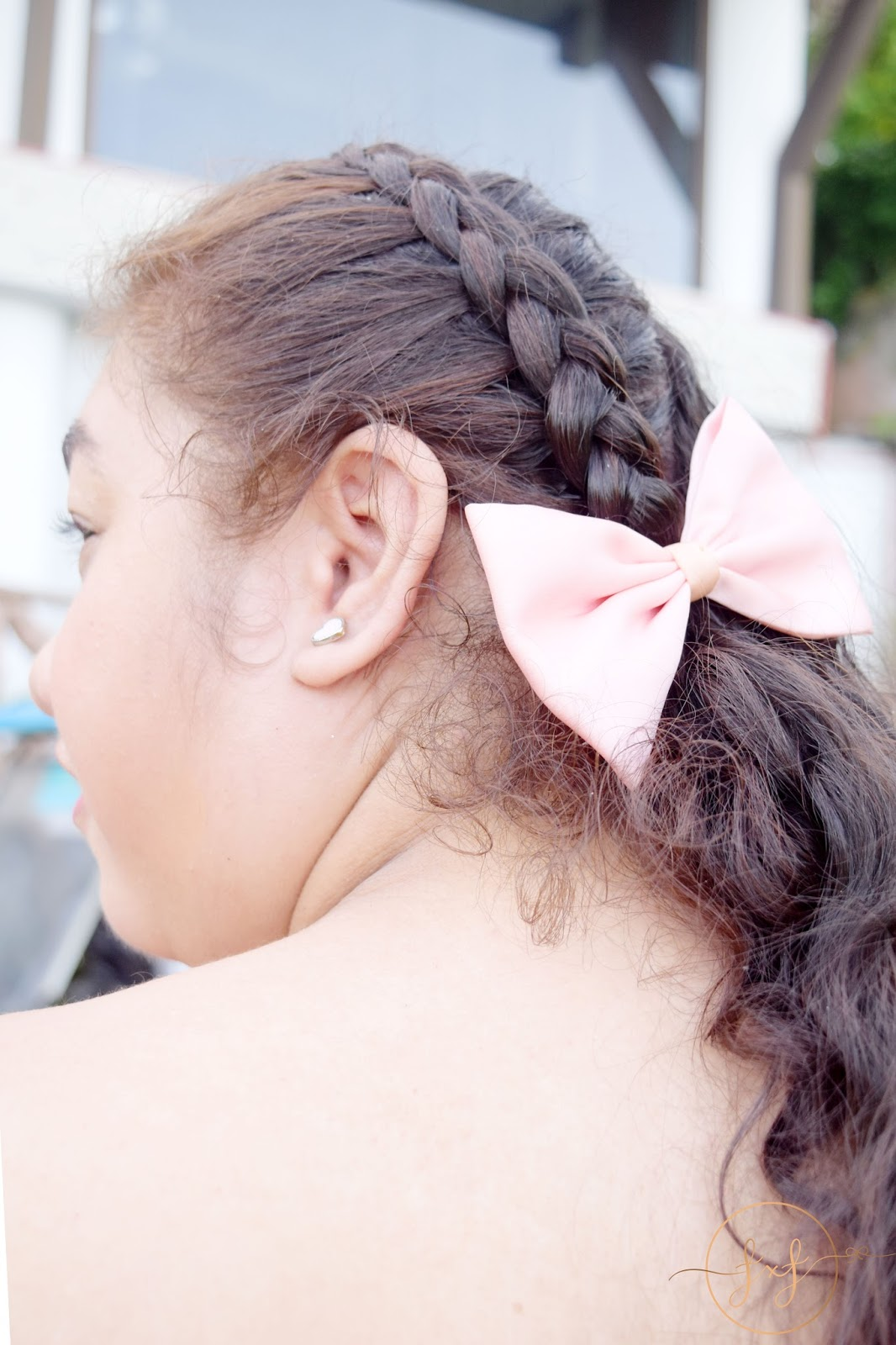 How To Style Bows with Braids Hairstyles