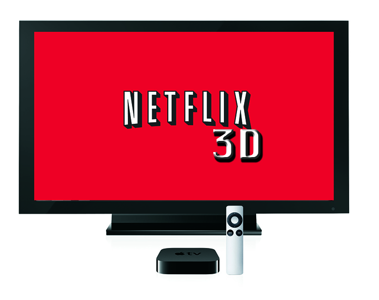 MarketSaw - 3D Movies, Gaming and Technology: Netflix Adds 3D Streaming!