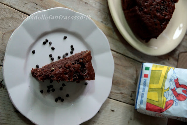 torta al cacao e noci