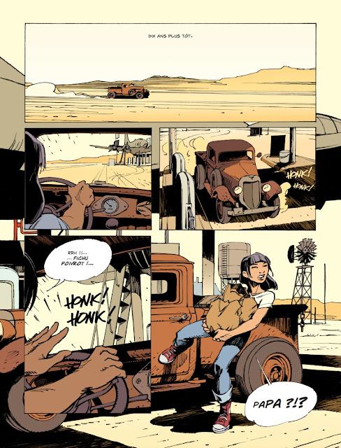 Streamliner - Bye-bye Lisa Dora Editions Rue de Sèvres page 12
