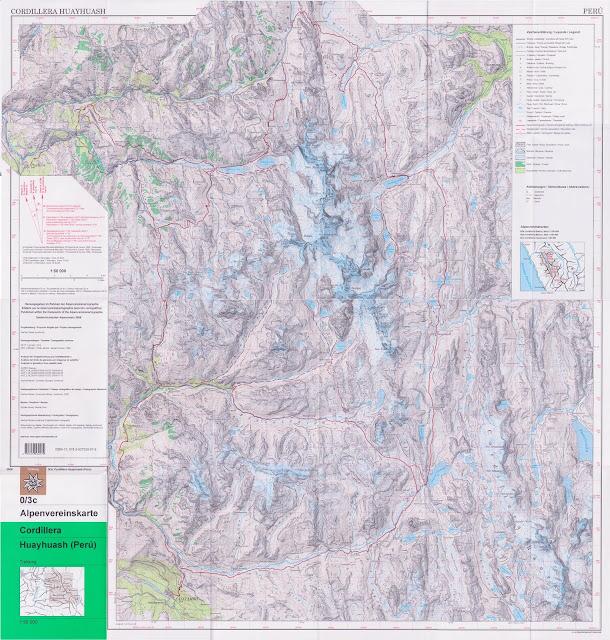 Cordillera Huayhuash - 50 000