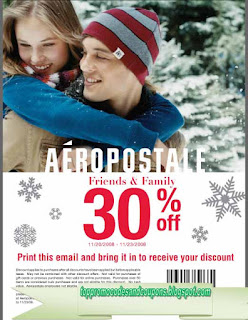 Free Printable Aeropostale Coupons