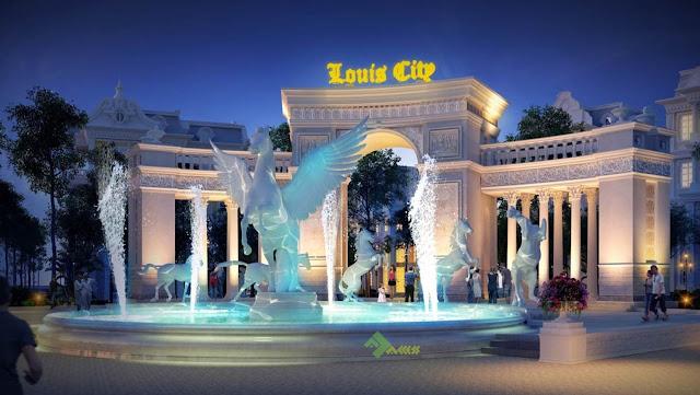 Cổng trào dự án Louis City