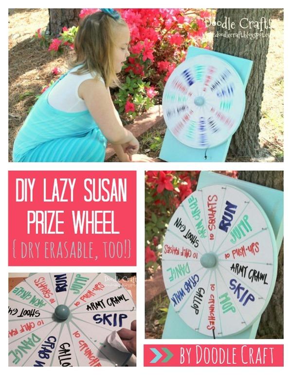 Doodlecraft Super Spinning Prize Wheel Diy