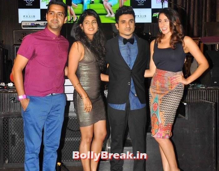 Kavi Shastri, Vega Tamotia, Vir Das, Anindita Nayar, Vir Das, Anindita Nayar, Shivangi R Kashyap at 'Amit Sahni Ki List' Music Launch