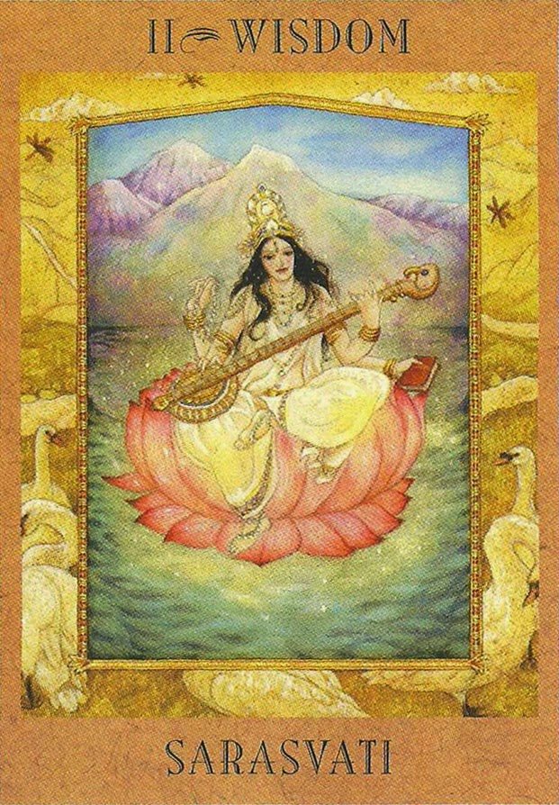 The Goddess Tarot | Sarasvati