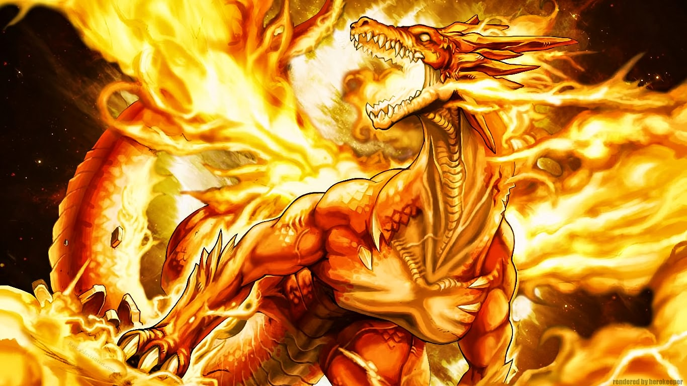 Hd Wallpapers Blog: Fire Dragon Wallpapers