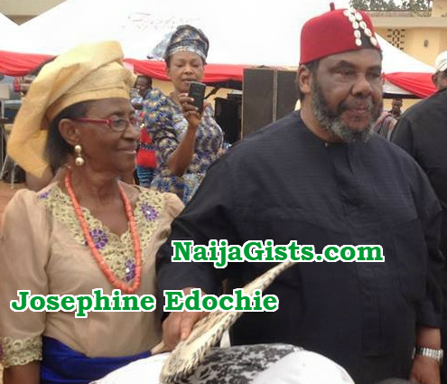 pete edochie wife