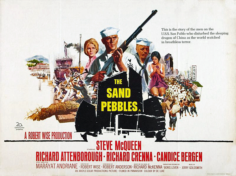 Image result for mcqueen in the sand pebbles