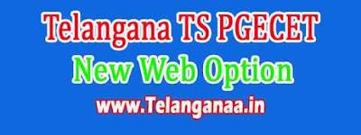 TS PGECET New Web Option Dates