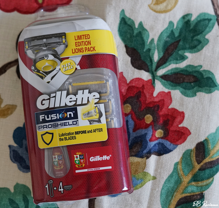 The Gillette Fusion ProShield Razor