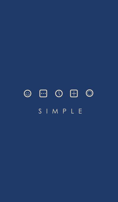 SIMPLE(navy/blue beige)Ver.11