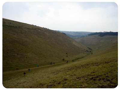 Devil's Dyke valley, Easter Monday 2013
