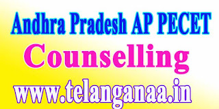Andhra Pradesh AP PECET Counselling APPECET 2017 Counselling