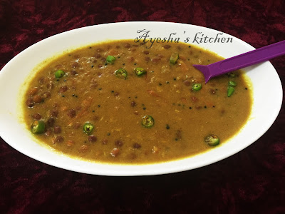 CHICK PEAS RECIPE  / KADALA CURRY