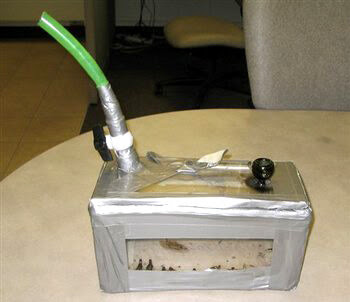 The Box Homemade Bong