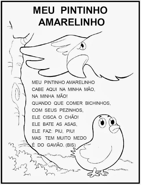 Resultado de imagem para MEU PINTINHO AMARELINHO