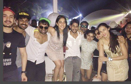 tollywood celebrities new year celebrartions in goa