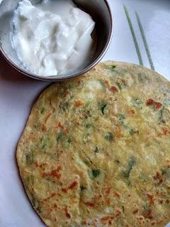 Potato paratha / Aloo paratha / batate paratha