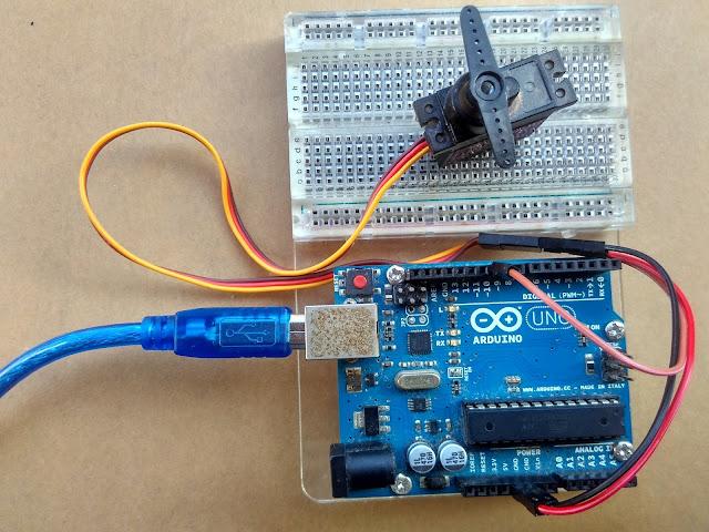 Tutorial Kontrol Motor Servo Menggunakan Arduino