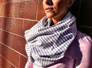 lululemon vinyasa scarf striped