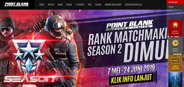 Web Phising Point Blank Zepetto