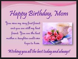 Greeting Card Happy Birthday Mom Dan Artinya Sfb