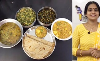 Vendhayam Rasam | Keerai Kootu | Vendaikkai Poriyal | Paneer Chole Masala